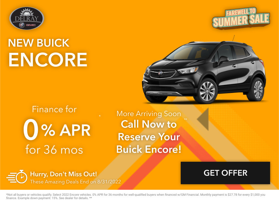New Buick Encore Current Deals and Offers in Delray Beach, FL