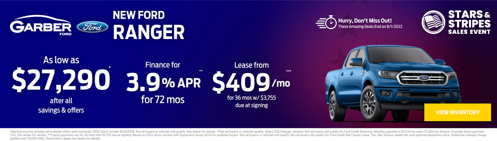 New Ford Ranger Current Deals and Offers in Green Cove Springs, FL