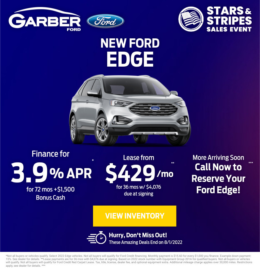 New Ford Edge Current Deals and Offers in Green Cove Springs, FL