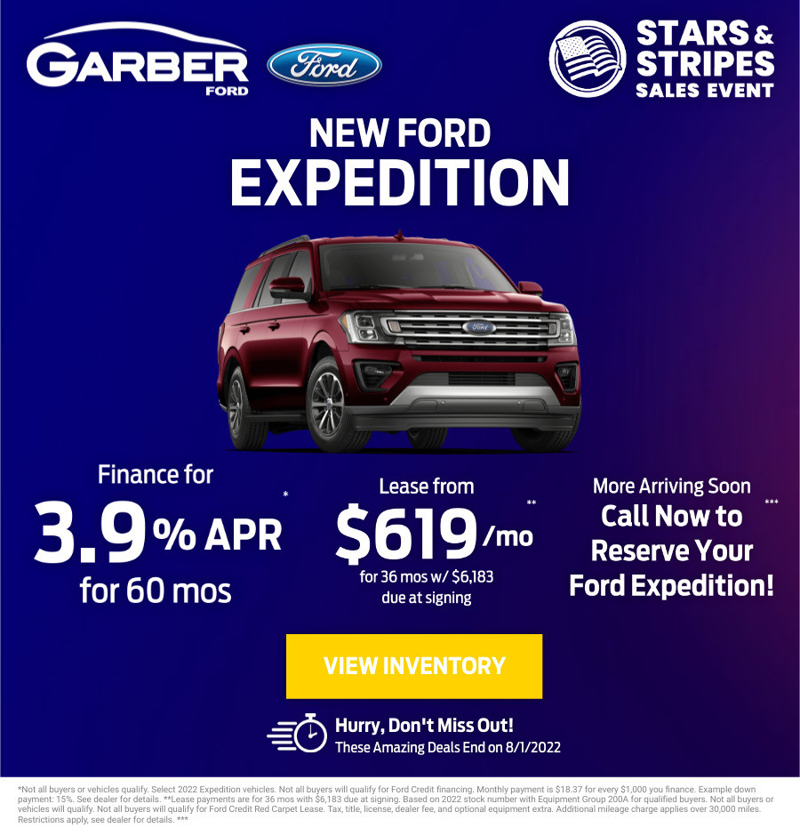 New Ford Expedition Current Deals and Offers in Green Cove Springs, FL