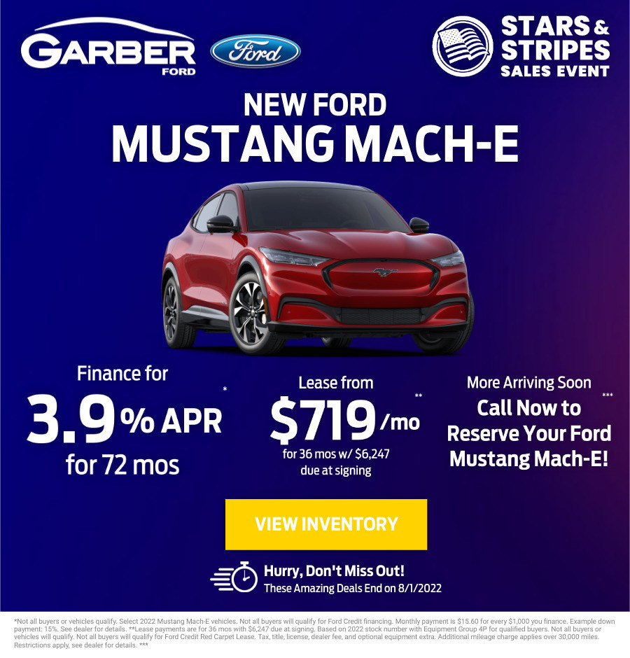 New Ford Mustang Mach-E Current Deals and Offers in Green Cove Springs, FL