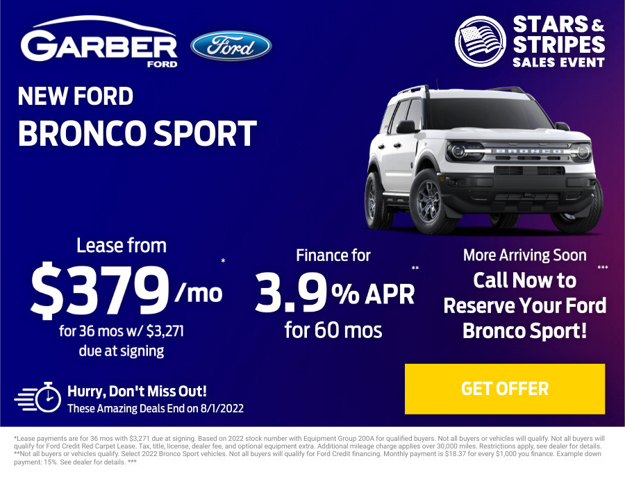 New Ford Bronco Current Deals and Offers in Orange Park, FL