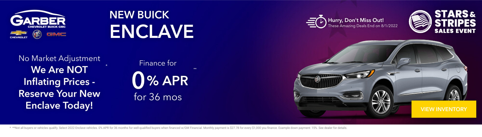 New Buick Enclave Current Deals and Offers in Green Cove Springs, FL