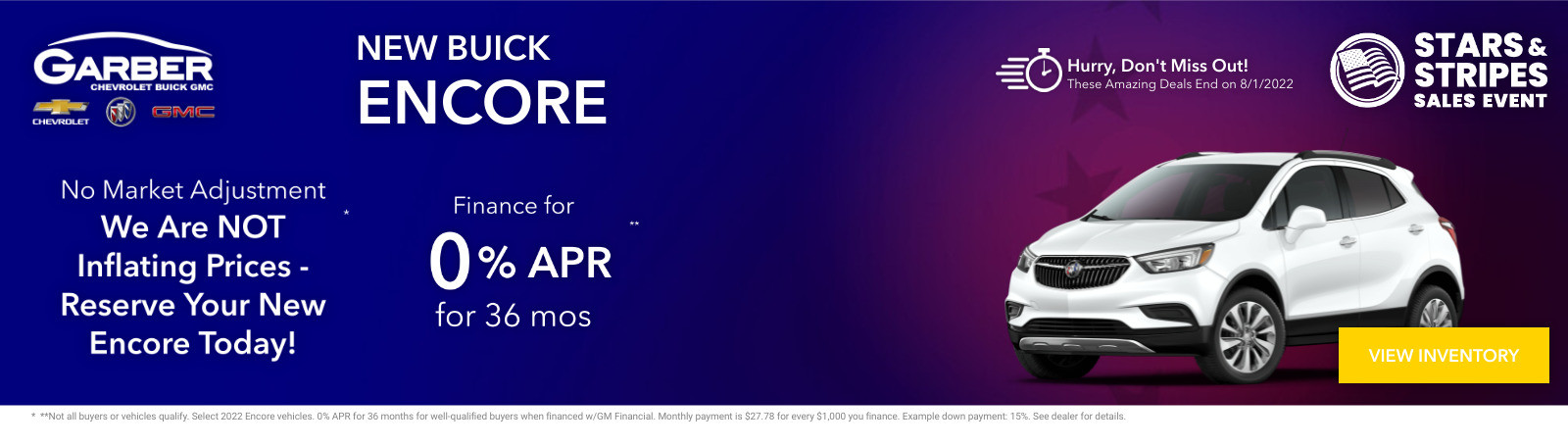 New Buick Encore Current Deals and Offers in Green Cove Springs, FL