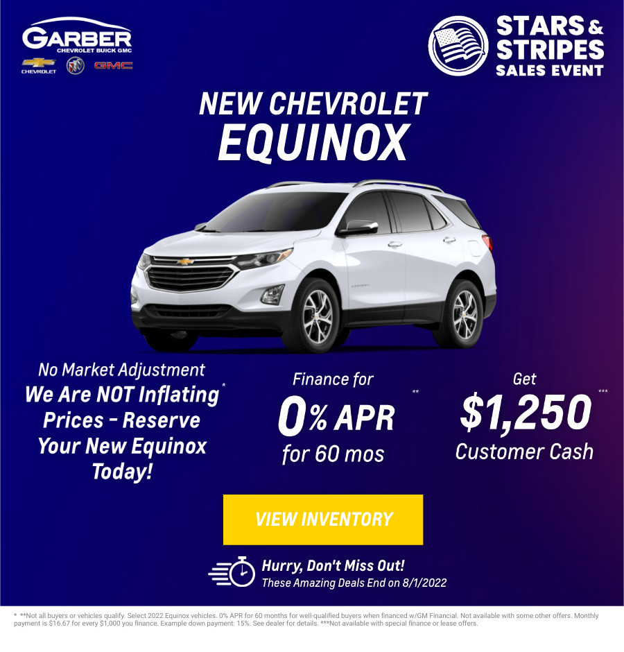New Chevrolet Equinox Current Deals and Offers in Green Cove Springs, FL