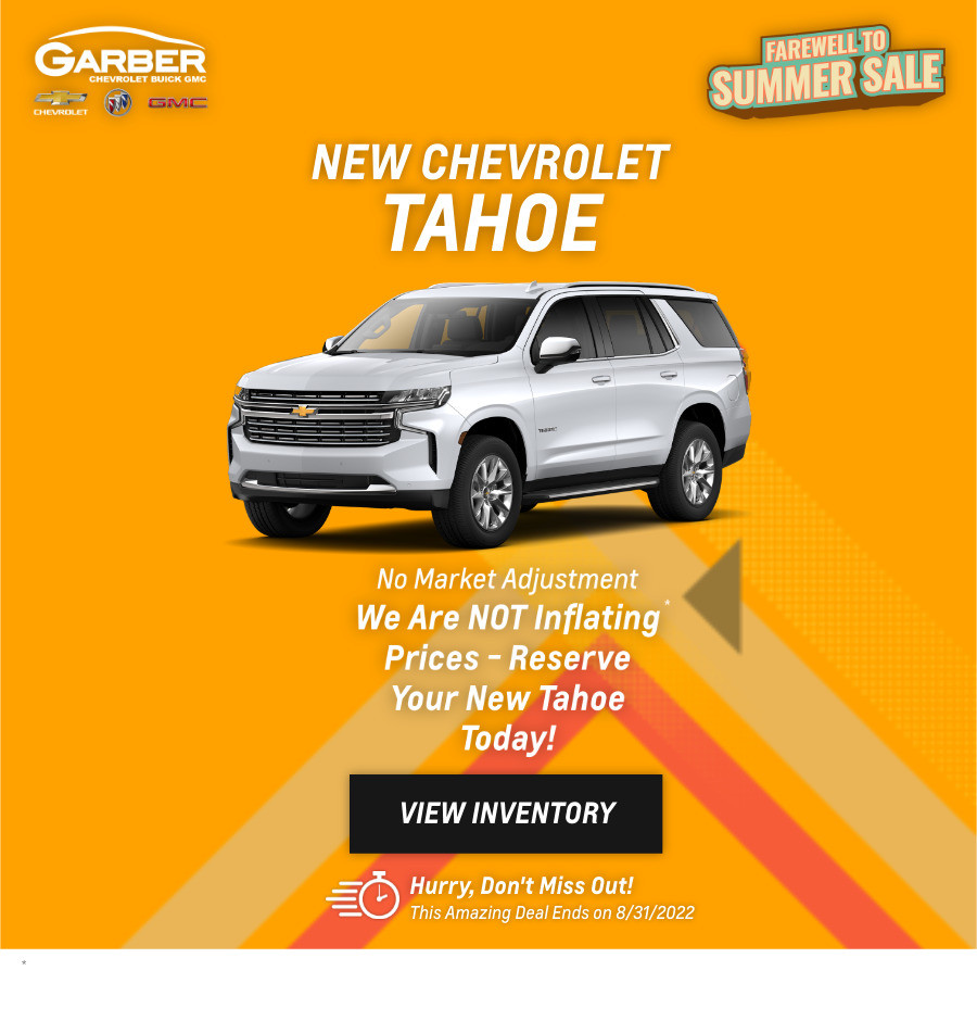 New Chevrolet Tahoe Current Deals and Offers in Green Cove Springs, FL