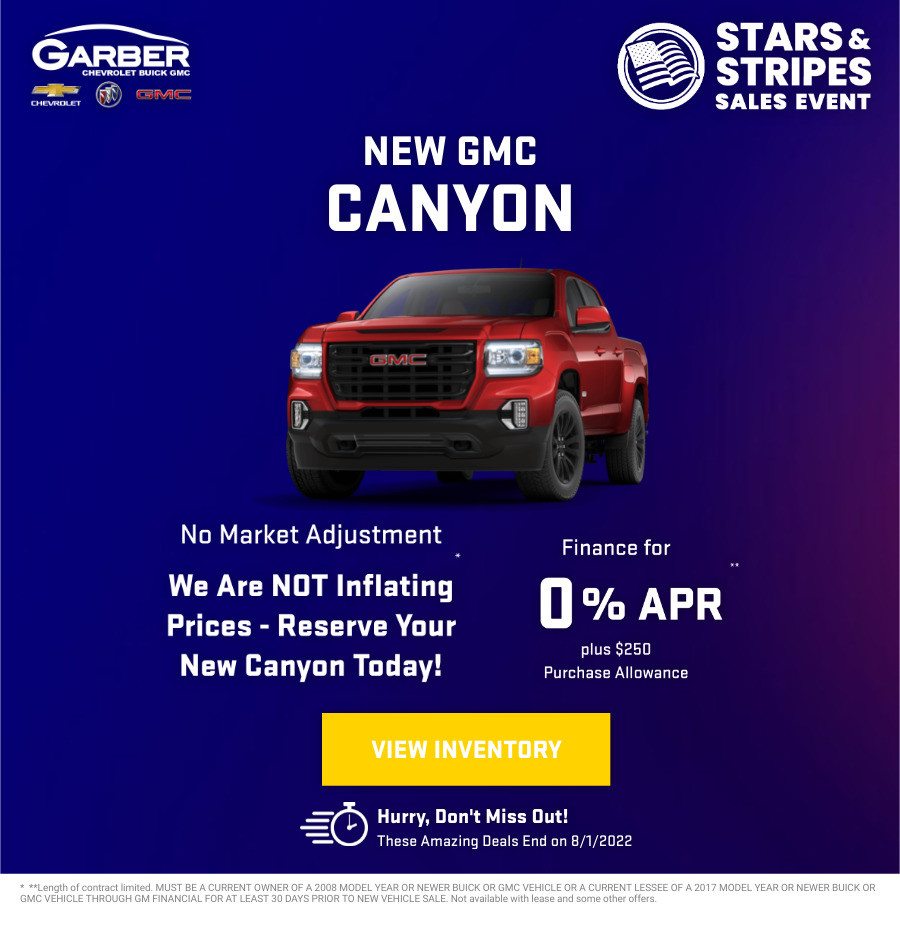 New GMC Canyon Current Deals and Offers in Green Cove Springs, FL