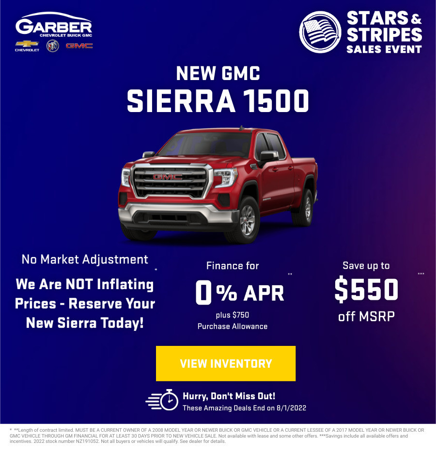 New GMC Sierra 1500 Current Deals and Offers in Green Cove Springs, FL
