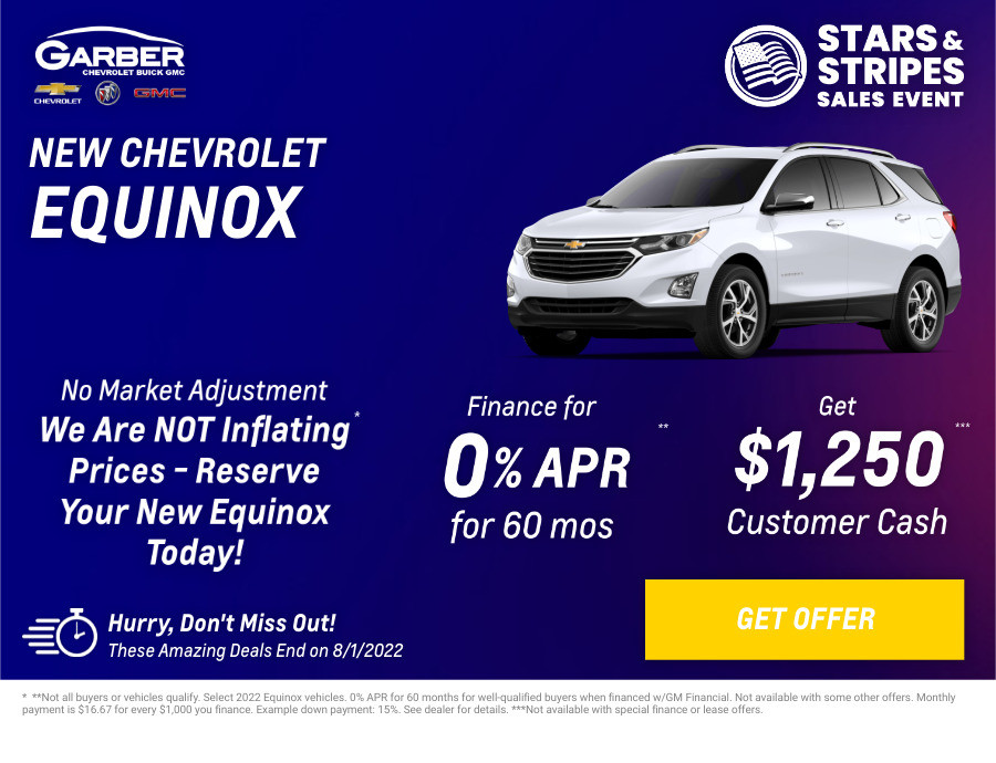 New Chevrolet Equinox Current Deals and Offers in Orange Park, FL