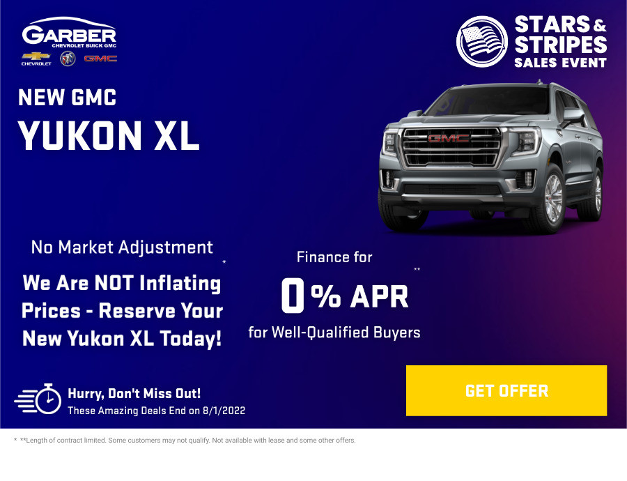 New GMC Yukon XLl Current Deals and Offers in Orange Park, FL