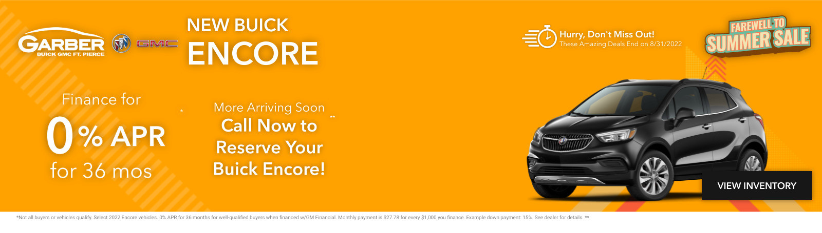 New Buick Encore Current Deals and Offers in Fort Pierce, FL