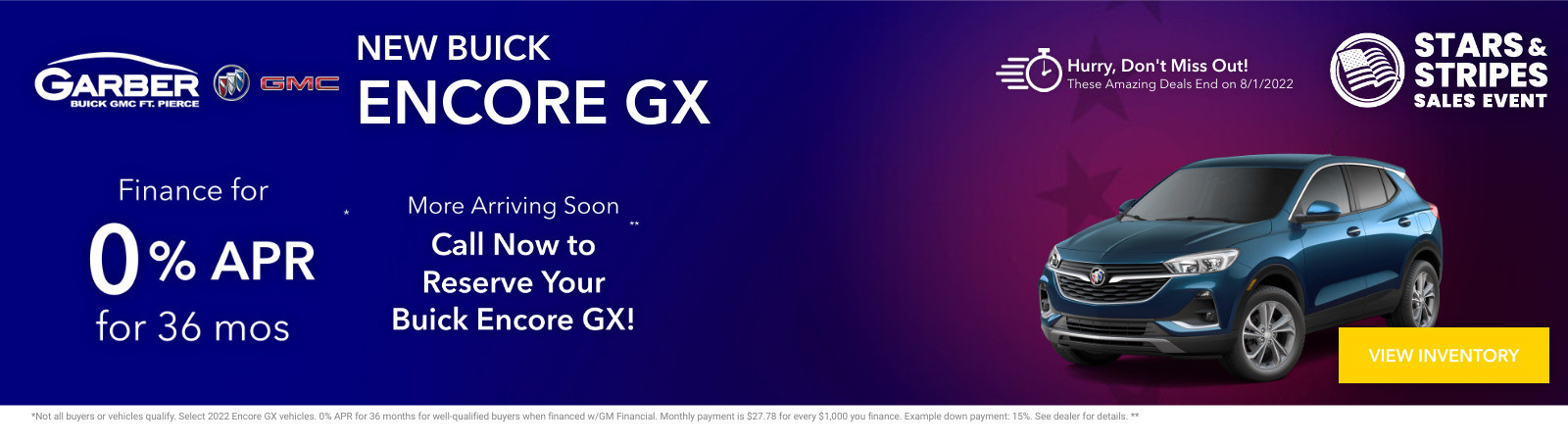New Buick Encore GX Current Deals and Offers in Fort Pierce, FL