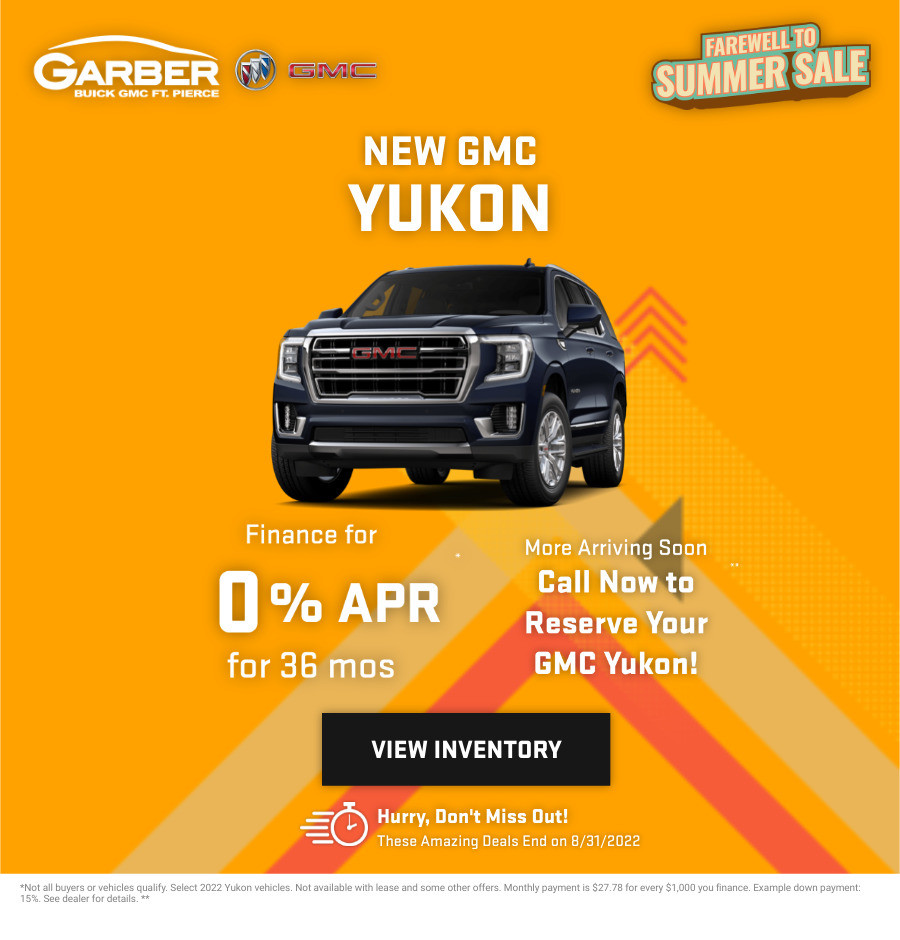New GMC Yukon Current Deals and Offers in Fort Pierce, FL