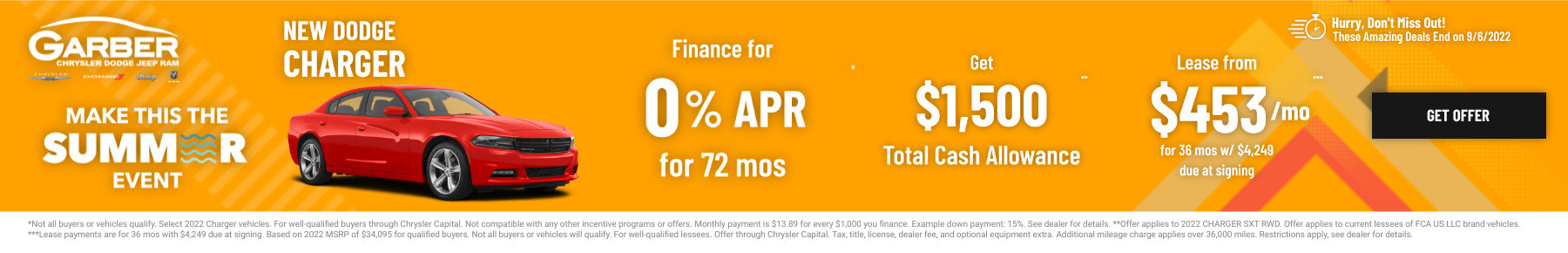 New Dodge Charger Current Deals and Offers in Saginaw, MI