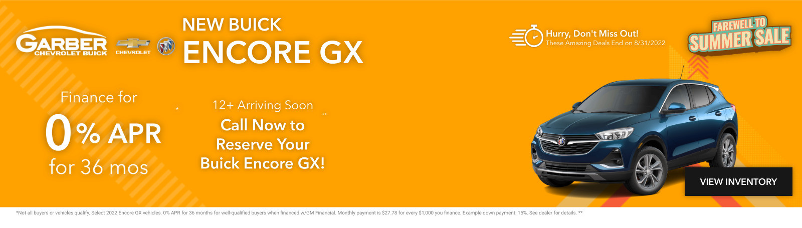 New Buick Encore GX Current Deals and Offers in Chesaning, MI