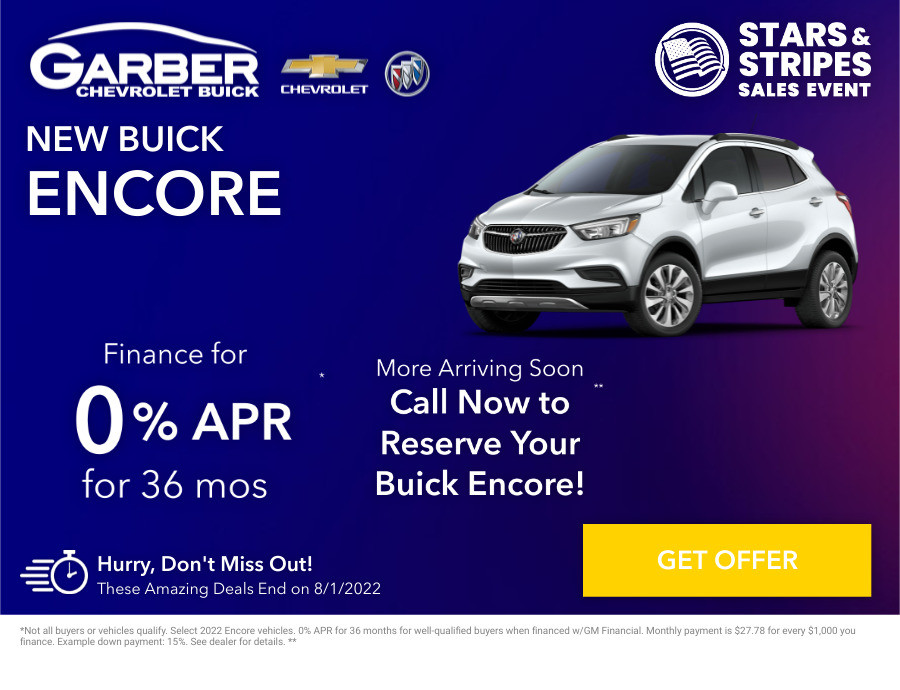 New Buick Encore Current Deals and Offers in Chesaning, MI