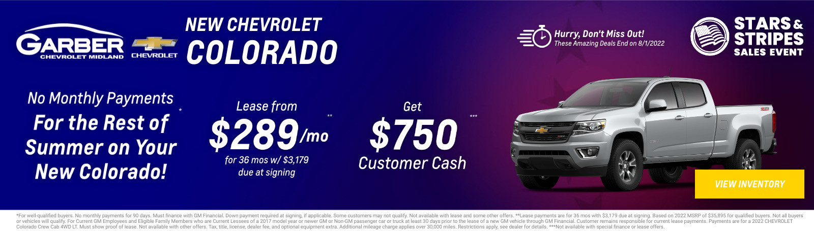 New Chevrolet Colorado Current Deals and Offers in Midland, MI