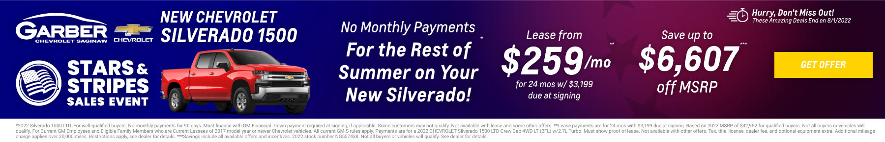 New Chevrolet Silverado Current Deals and Offers in Saginaw, MI