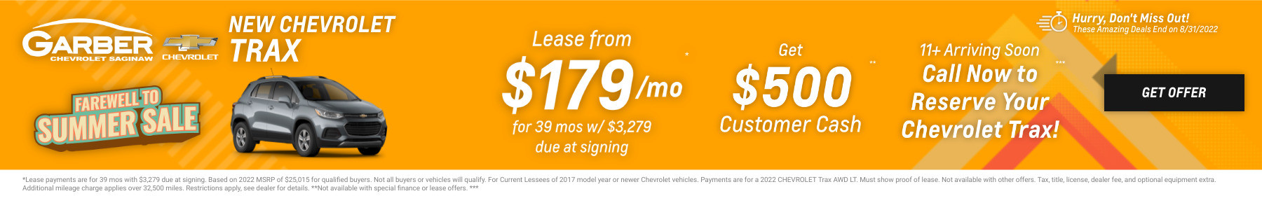 New Chevrolet Tax Current Deals and Offers in Saginaw, MI