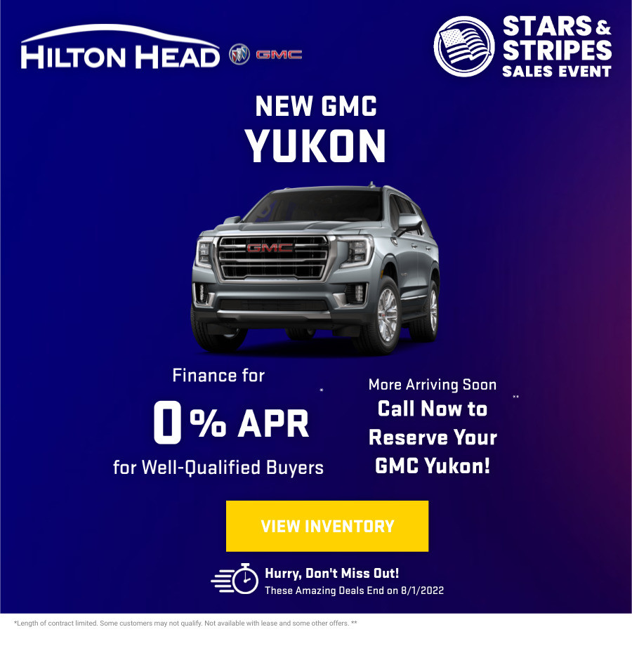 New GMC Yukon Current Deals and Offers in Savannah, GA