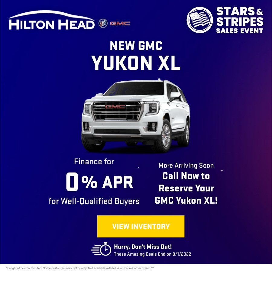 New GMC Yukon xl Current Deals and Offers in Savannah, GA