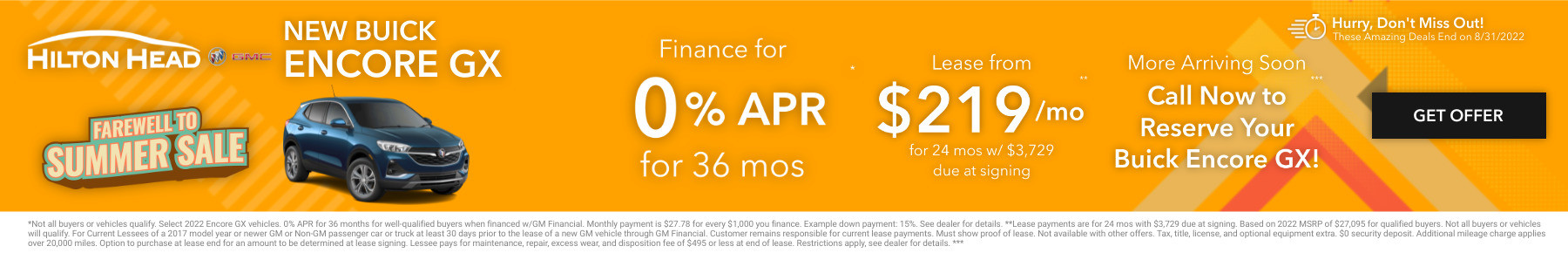 New Buick Current Deals and Offers in Savannah, GA