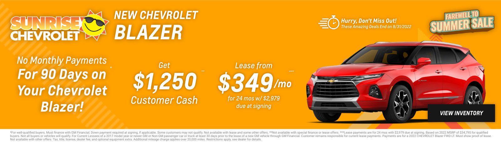 New Chevrolet Blazer Current Deals and Offers in Chicago, IL