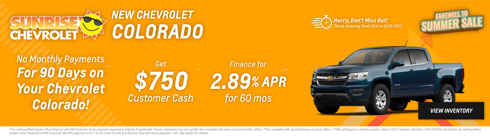 New Chevrolet Colorado Current Deals and Offers in Chicago, IL