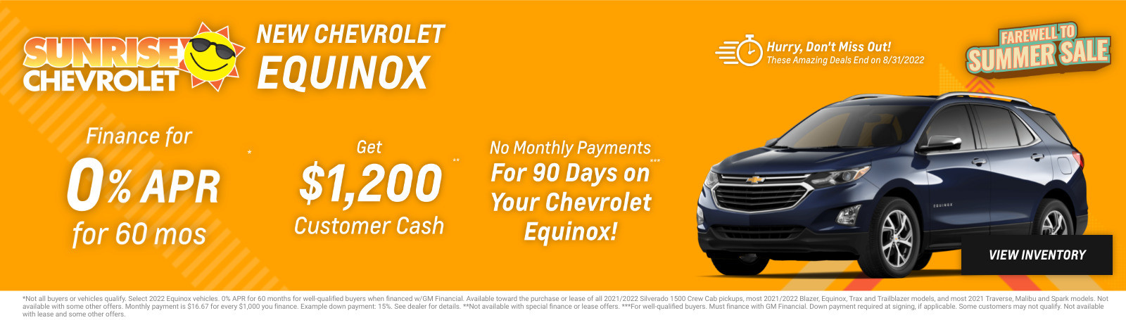 New Chevrolet Equinox Current Deals and Offers in Chicago, IL