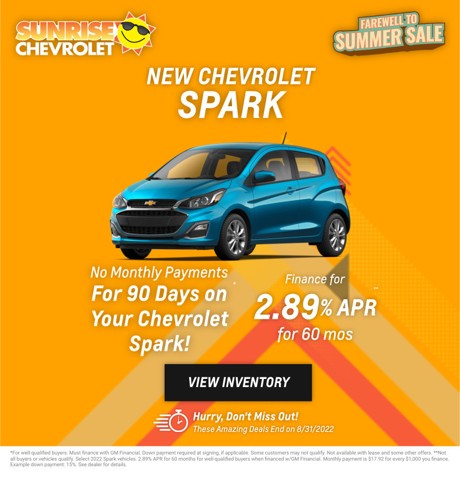 New Chevrolet Spark Current Deals and Offers in Chicago, IL